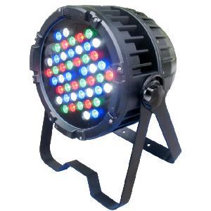 Projecteur LED - 48x5W - RGB + blanc