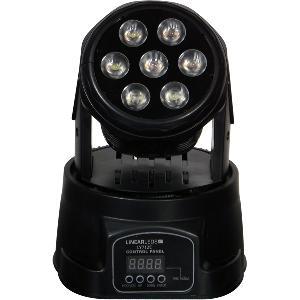 Lyre LED 7x12W - 4 en 1