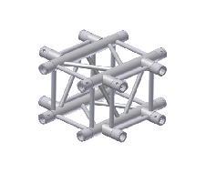 Croix carrée - 4 directions