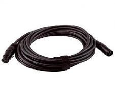 Câble DMX PRO 1 paire double blindage noir - Prix au km