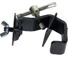 Crochet à plaques petit modèle noir