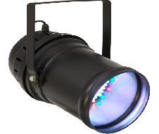 PAR 64 LED 20x3W long noir