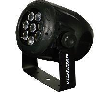 Mini PAR 8x12W - 4 en 1 - RGBW