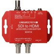 Mini-convertisseur scaleur HD SDI vers HDMI et 2 x SDI