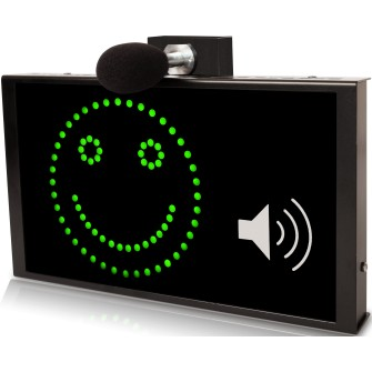Afficheur pédagogique smiley autonome avec kit micro