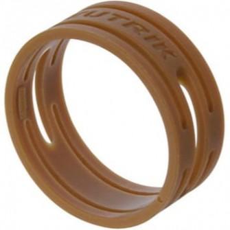 Bagues de couleur marron série XX (prix au 100)